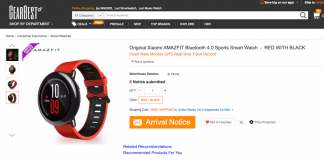 Xiaomi Mi Watch GearBest