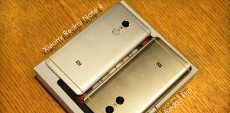 Xiaomi Redmi Note 4 vs Redmi Pro