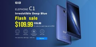 elephone c1 flash sale offerta