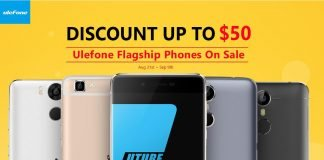 Geekbuying Ulefone brand sale