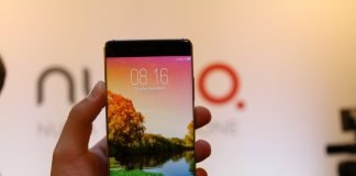 Nubia z11 black hands on