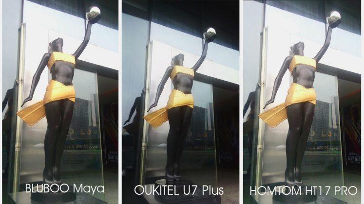 Oukitel U7 Plus vs Bluboo Maya vs HomTom HT17 Pro