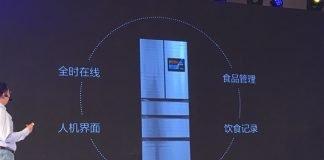 Apresentou o primeiro refrigerador inteligente da China com Yunos 6