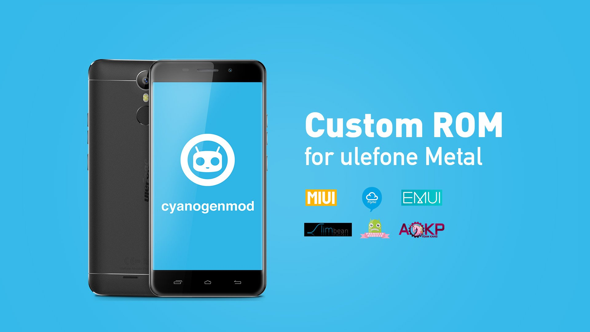 Ulefone Metal CyanogenMod custom rom