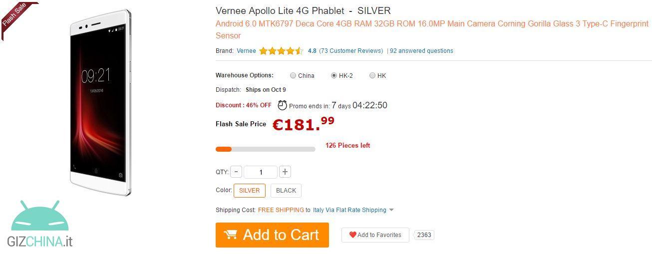 Vernee Apollo Lite GearBest