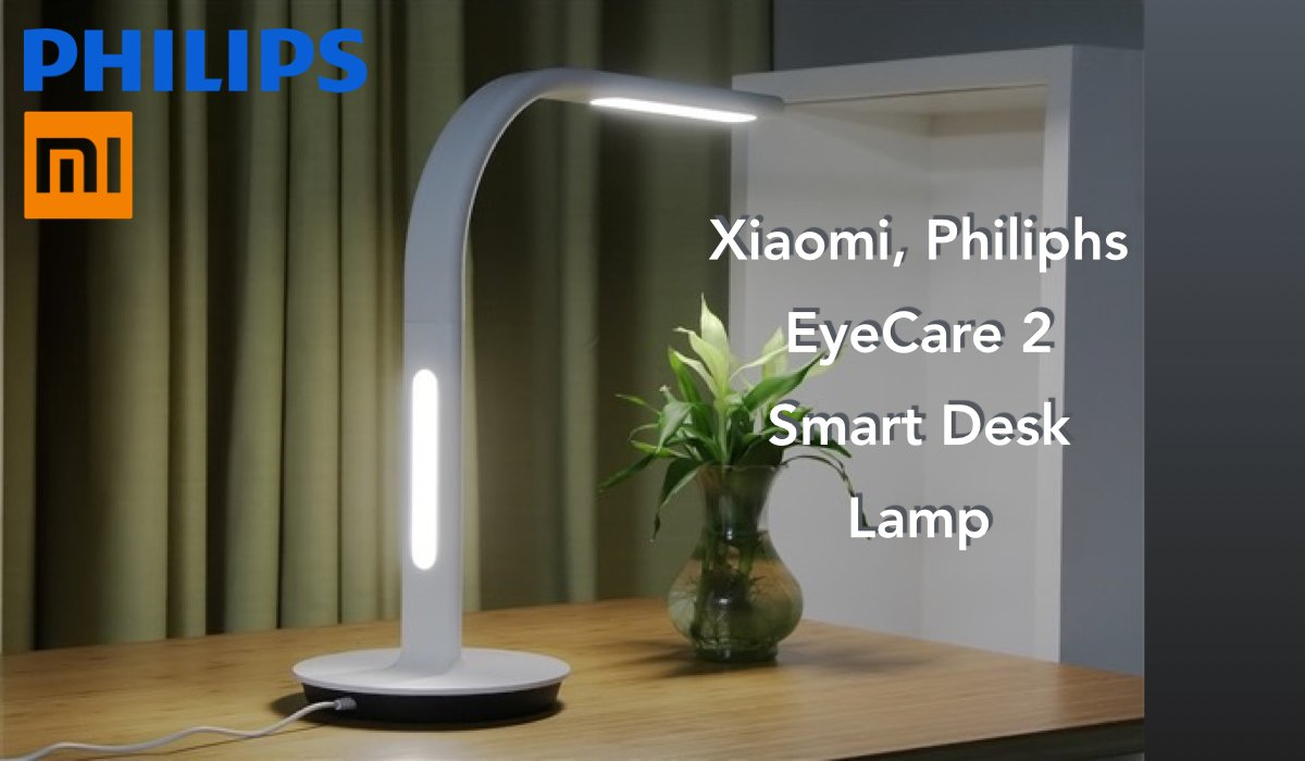 Xiaomi philips eyecare 2: erstes unboxing der neuen intelligenten lampe
