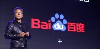 Parcerias de carros semi-automáticos Baidu NVIDIA