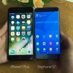 iPhone 7 Plus vs Elephone S7