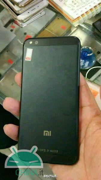 Xiaomi Mi Note 2 leaked