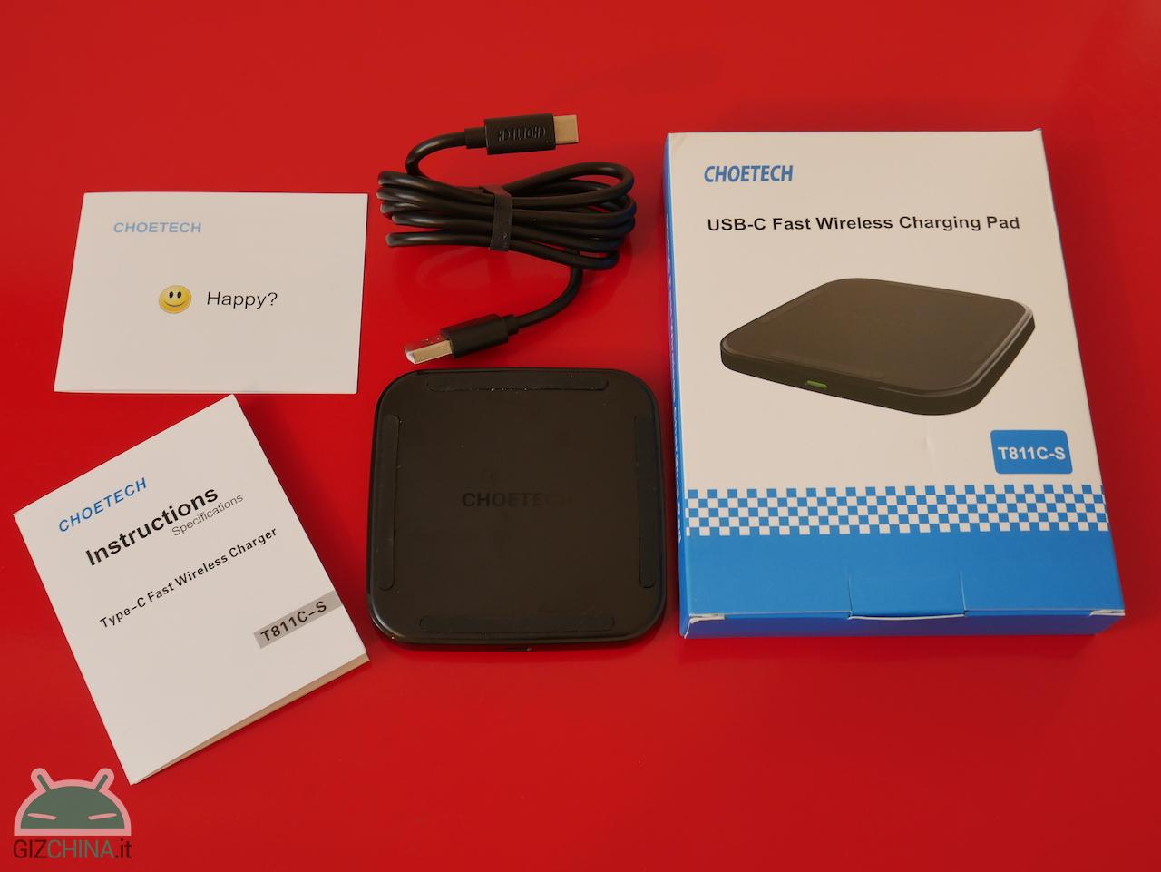 Choetech Wireless Fast Charge