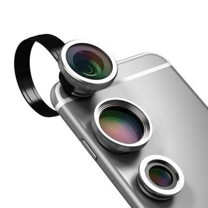 lentes de smartphone dodocool 3-in-1