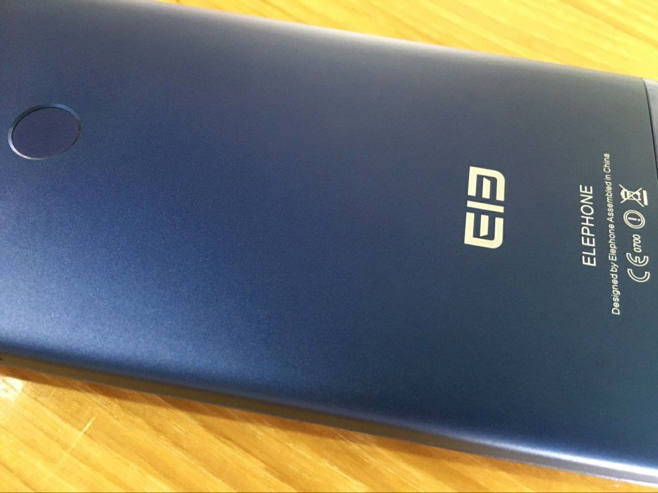 elephone c1 texture back-cover