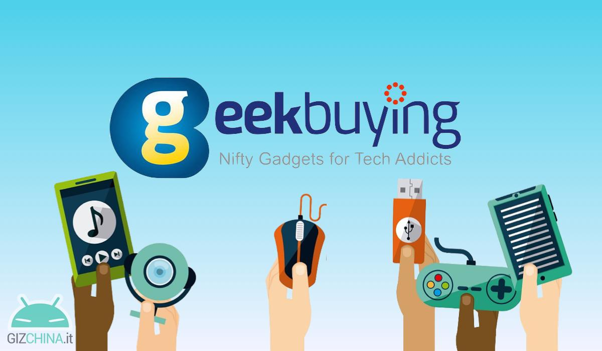 Coupon GeekBuying offerta