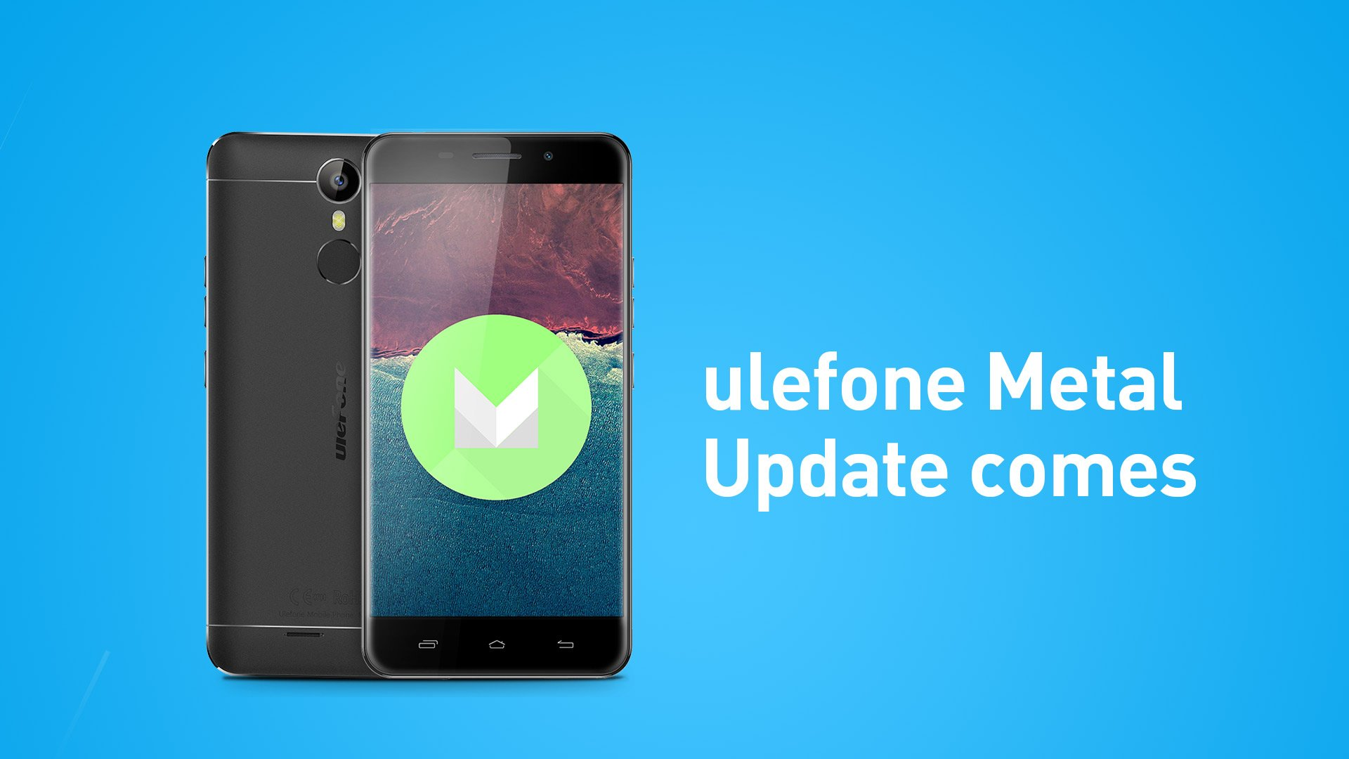 Ulefone Metal update