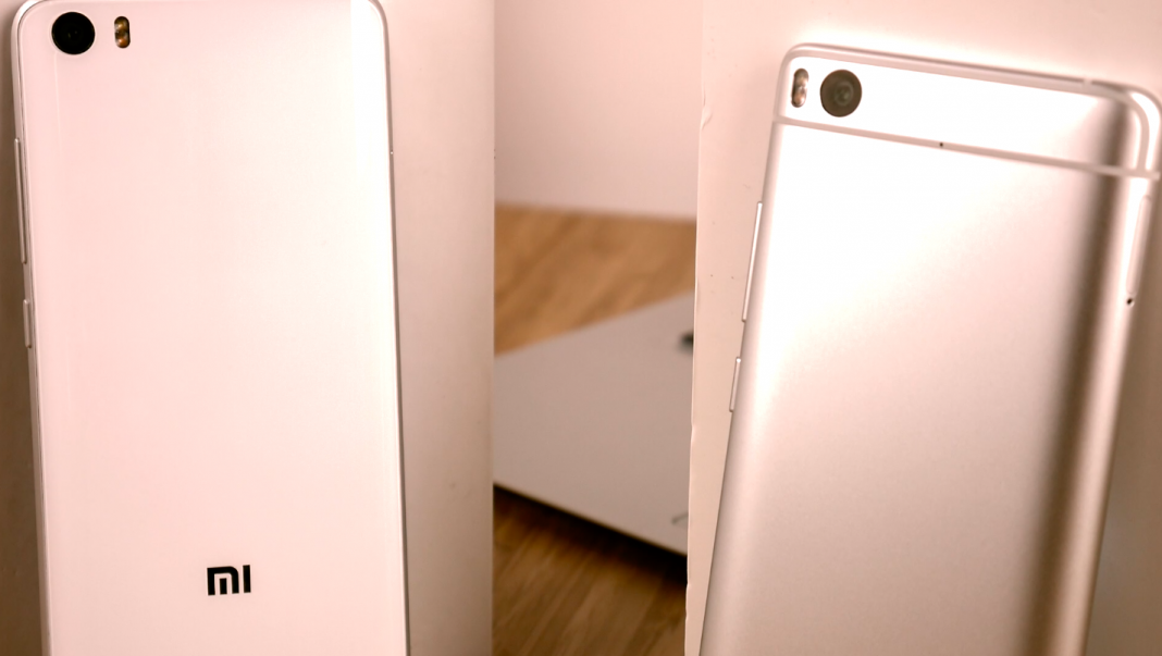 Xiaomi Mi 5S gegen Mi 5