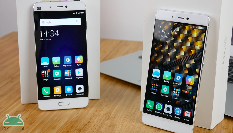 Xiaomi Mi 5S vs Mi 5
