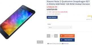 Xiaomi Mi Note 2 iBuygou