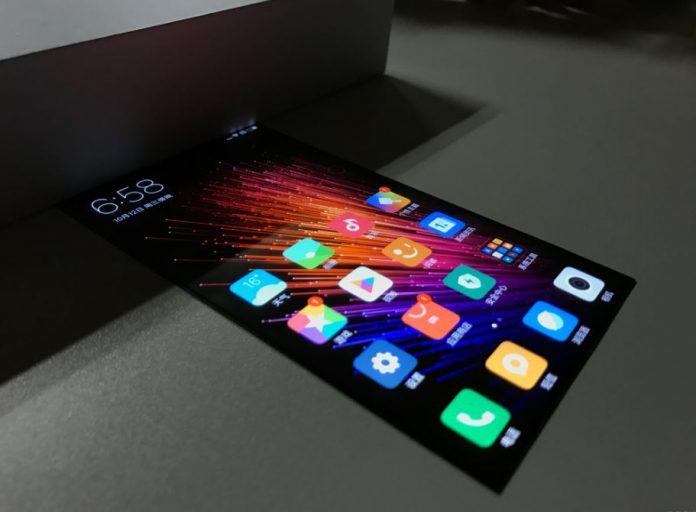 xiaomi prototipo display flessibile miui 8