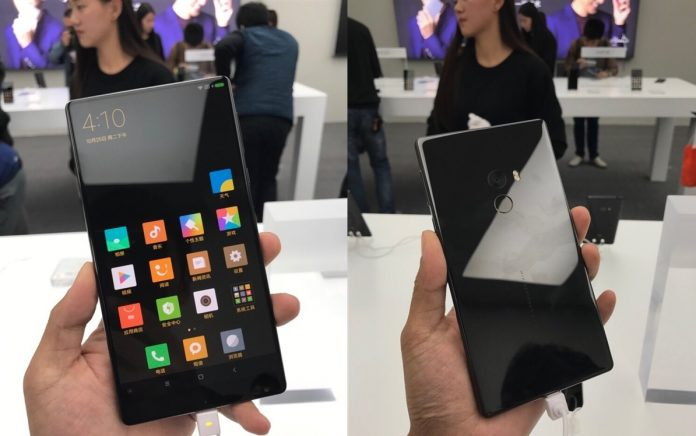 xiaomi mi mix hands-on