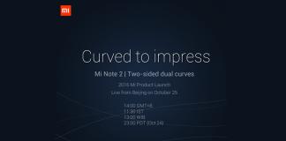 Xiaomi mi notas 2 teaser dual edge