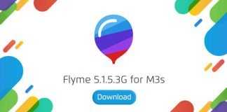 Flyme 5.1.5.3G Meizu M3s