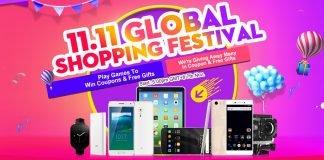 Festival global de compras 11.11 myefox