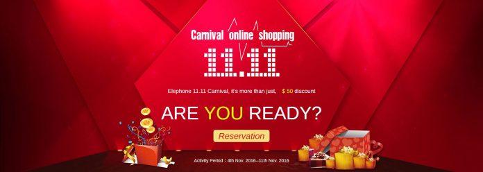 Carnaval de Elephone 11.11