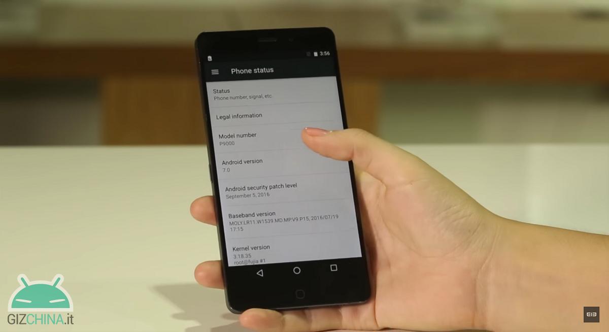 elephone p9000 Android 7.0 Nougat