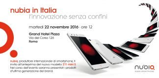 evento nubia experience italia