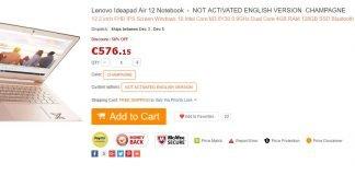 Lenovo Ideapad Air 12