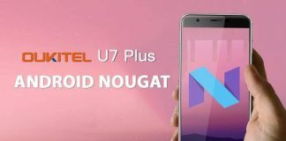 oukitel u7 plus nougat android 7.0