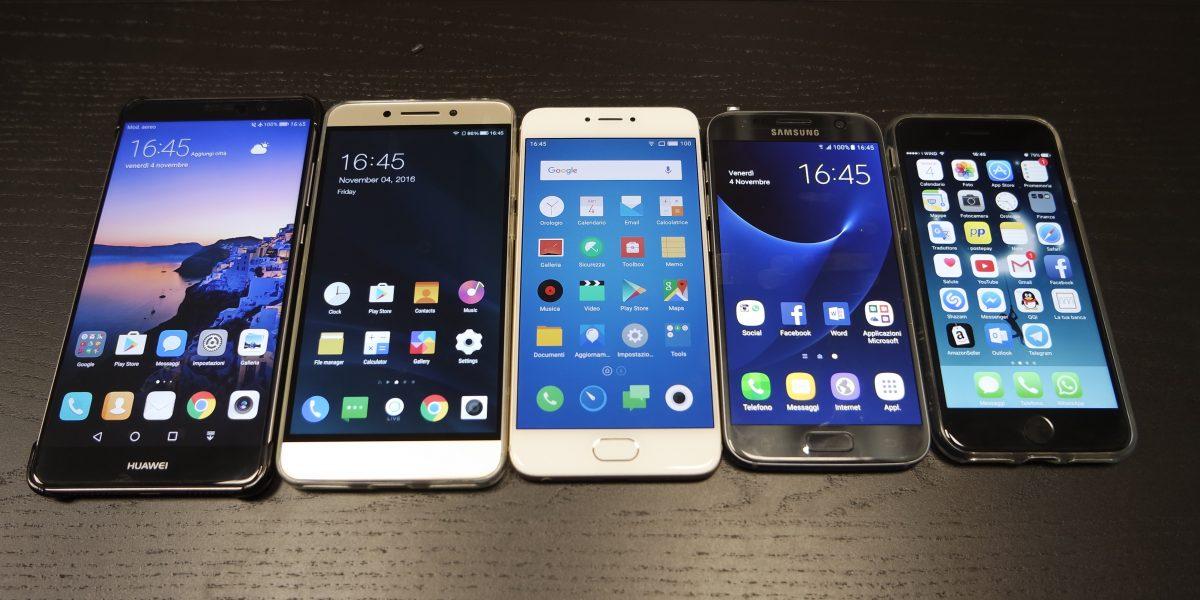 Huawei Mate 9 Vs Leeco Le Pro 3 Vs Samsung Galaxy S7 Vs