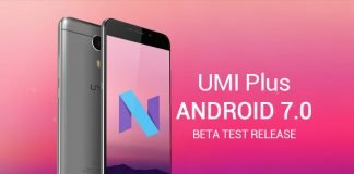 UMi Plus rom beta android 7.0
