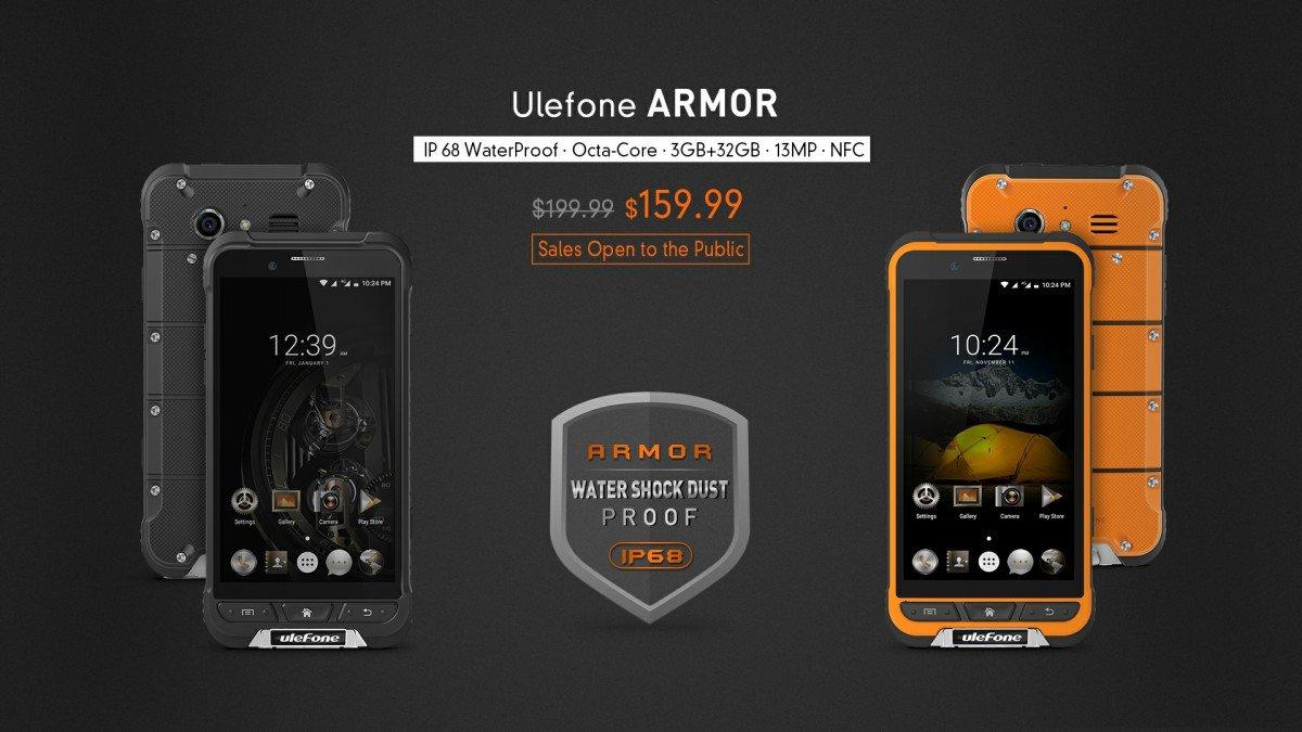 ulefone armor prevendite