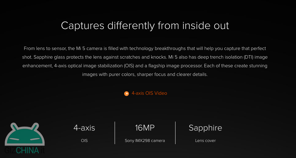 Xiaomi Mi 5 vs Mi 5S