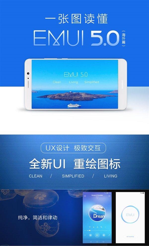 Huawei lavora su EMUI 5.0 per P9 1