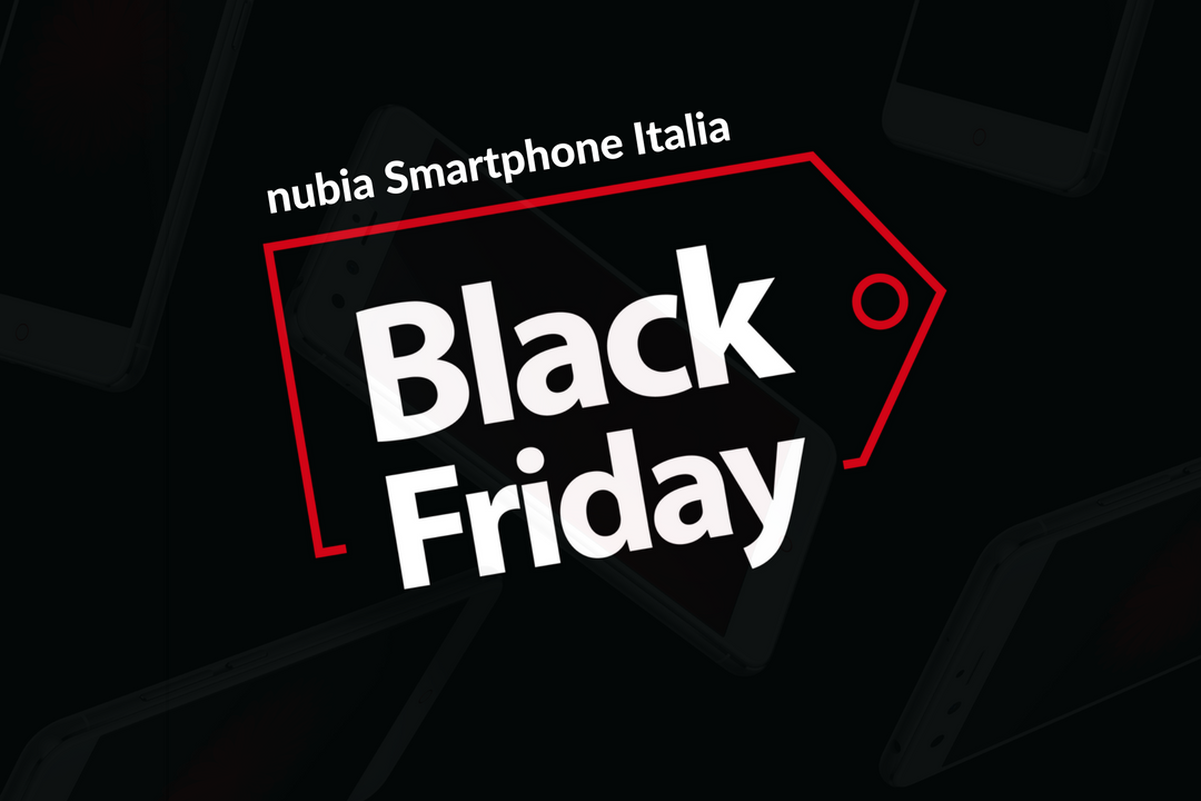 Nubia Black Friday