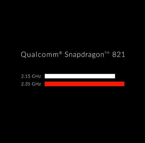 qualcomm snapdragon 821 oneplus 3T