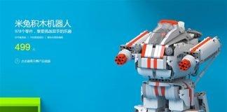 Robô de brinquedo modular Xiaomi