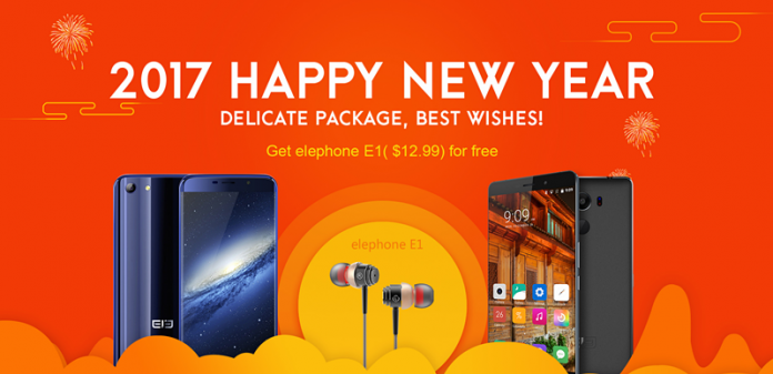 la oferta de elephone Bogog fin de año