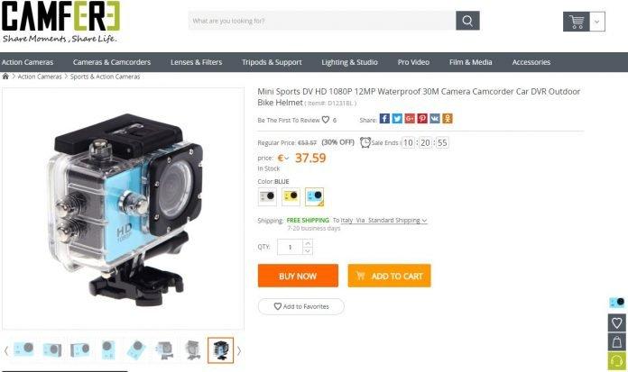 CamFere Andoer DV HD 1080P