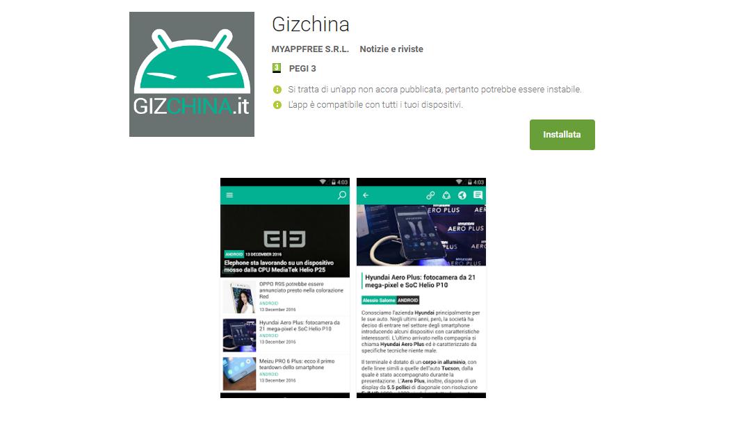 gizchina app play store