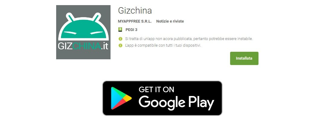 GizChina App (Beta) officially arrives on the Google Play Store