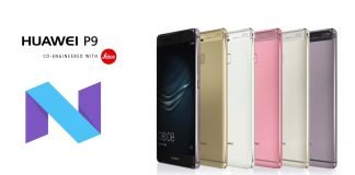 huawei p9 aggiornamento android 7 nougat
