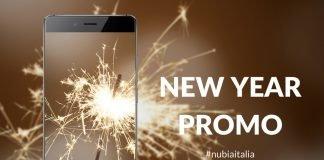 nubia offerta new year's promo