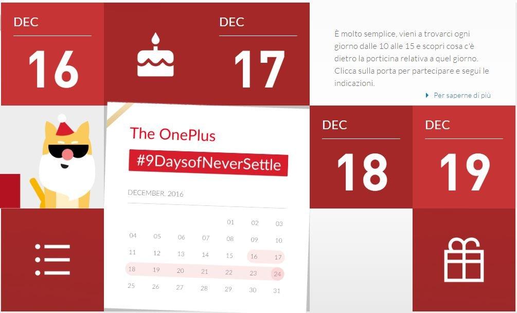 OnePlus 9daysofneversettle