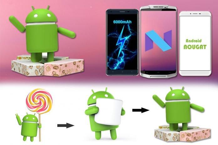 oukitel android 7.0 nougat