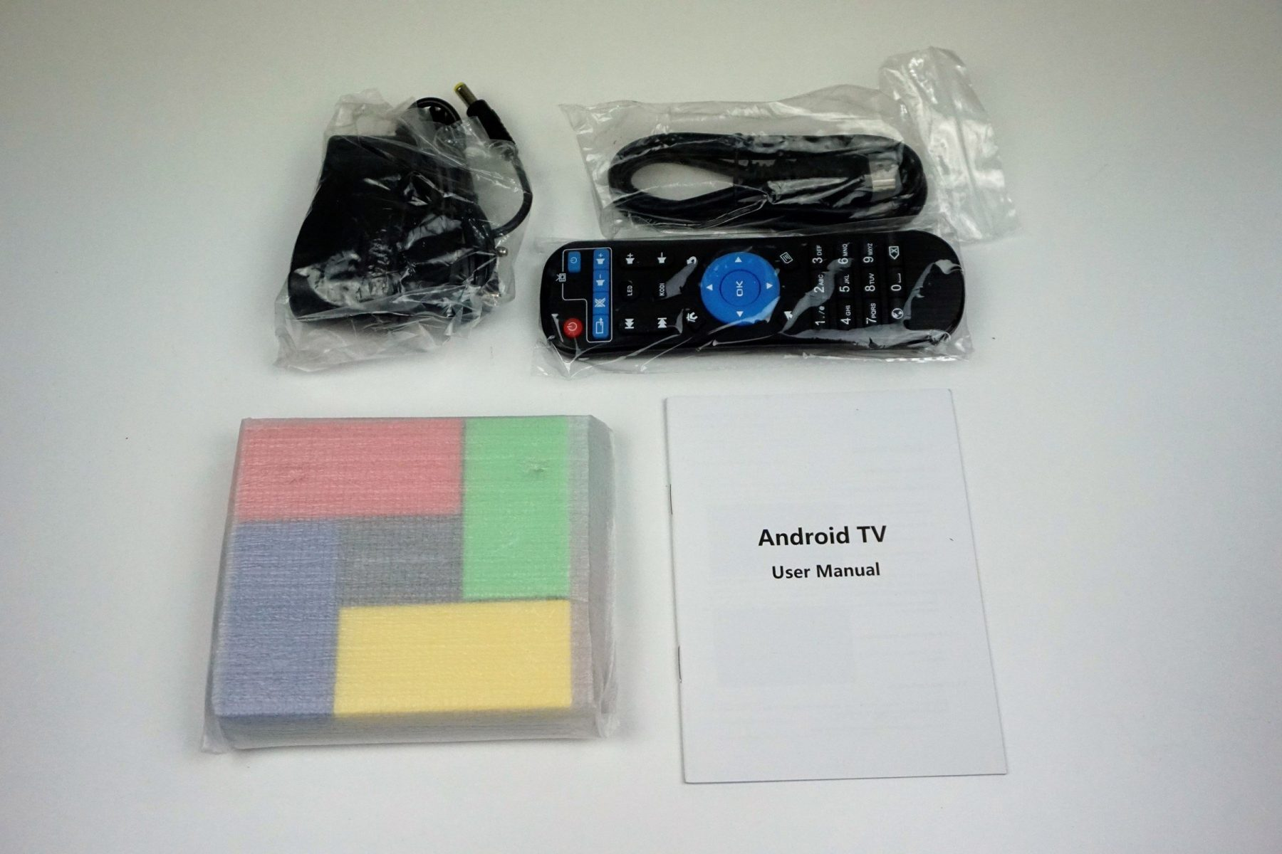 T95K Pro: cheap and colorful Android TV Box, proof of