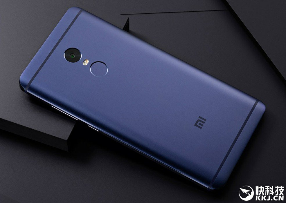 Xiaomi Redmi Notizen 4 schwarz und blau