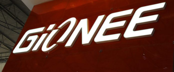 logotipo do gionee
